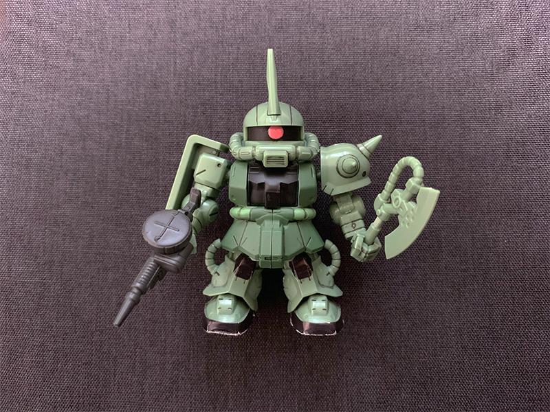機動戦士ガンダム マイクロウォーズ  ザクⅡ スミ入れ