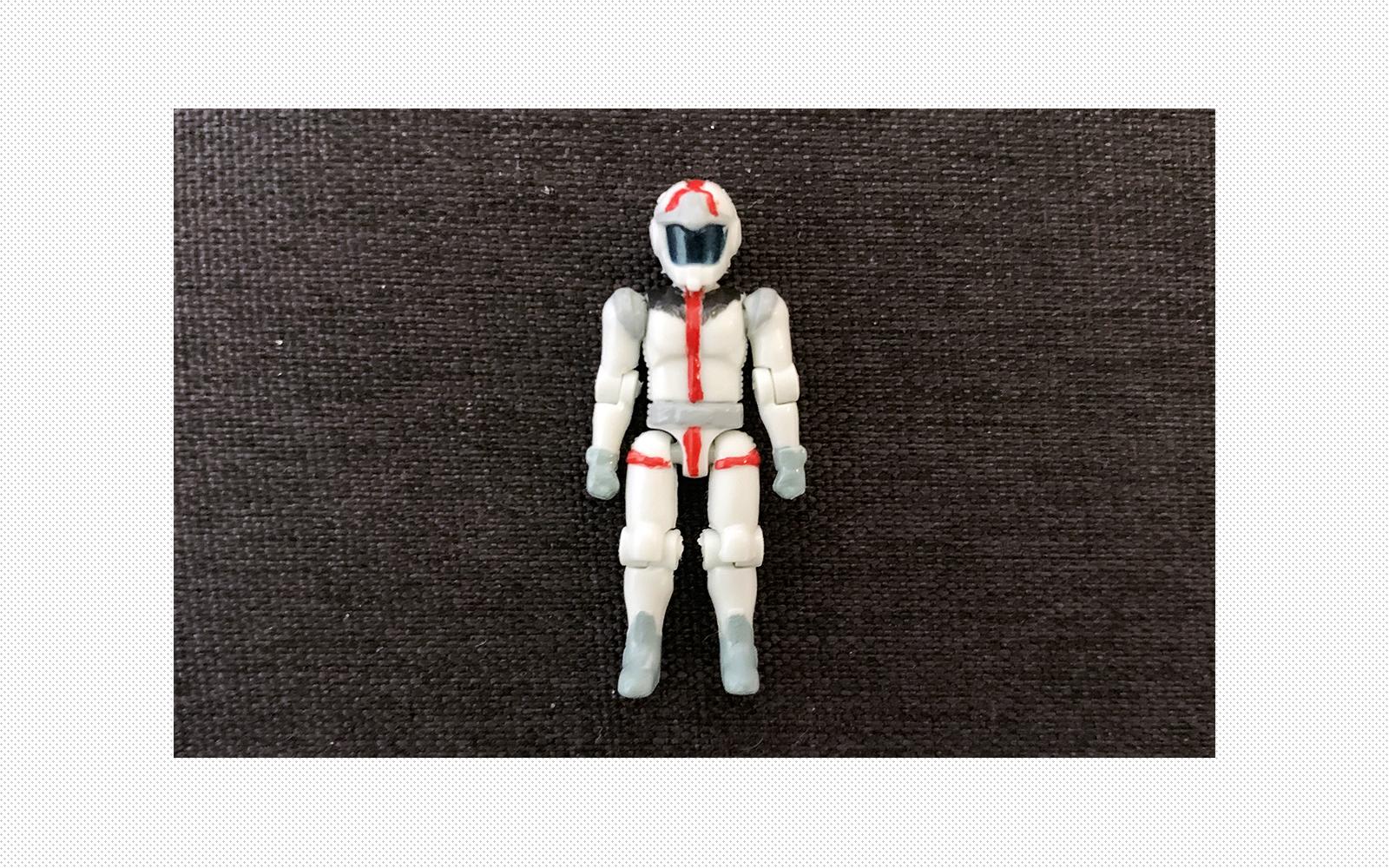 機動戦士ガンダム マイクロウォーズ アムロ・レイパイロットスーツ塗装
