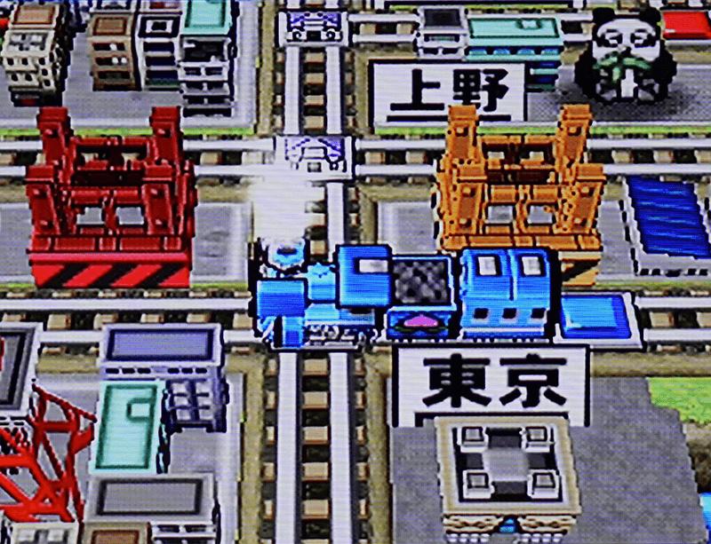 PS2をD端子で接続した画面
