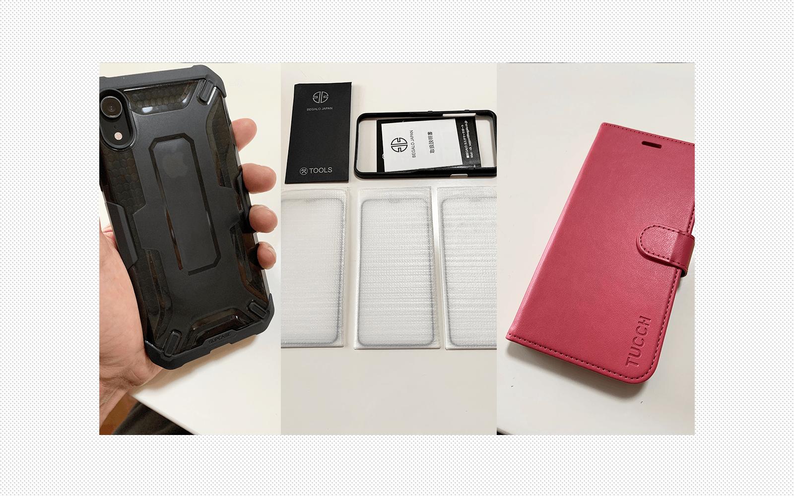 iPhoneXRのオススメガラスフィルムとケースを正直にレビュー