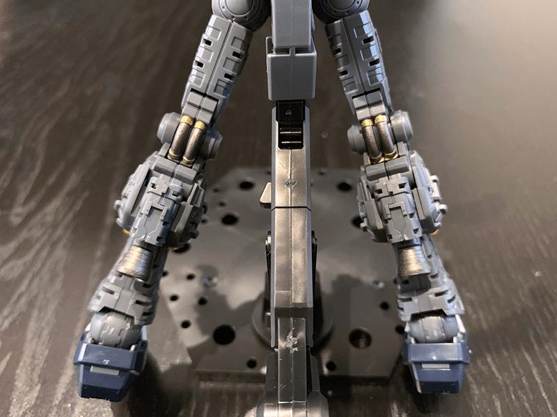 νガンダムフレーム関節塗装