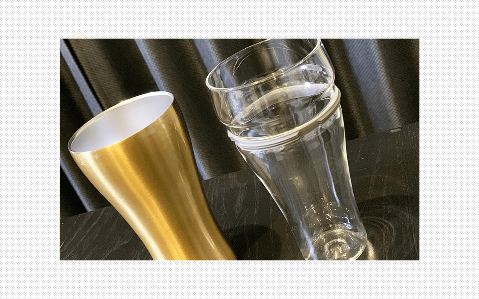 """注いだビールが最後まで冷たいタンブター""""ON℃ZONE飲みごこちビールタンブラー""""を正直レビュー"""