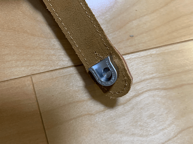 challer シャーラー ストラップロックピン S-Locks ストラップとの接続