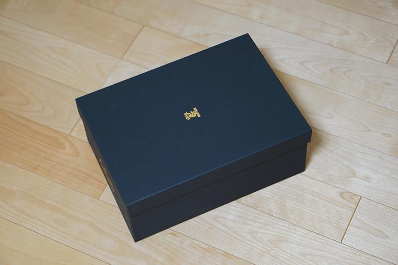 SCOTCH GRAIN(スコッチグレイン)938BL(ツーシーム)外箱