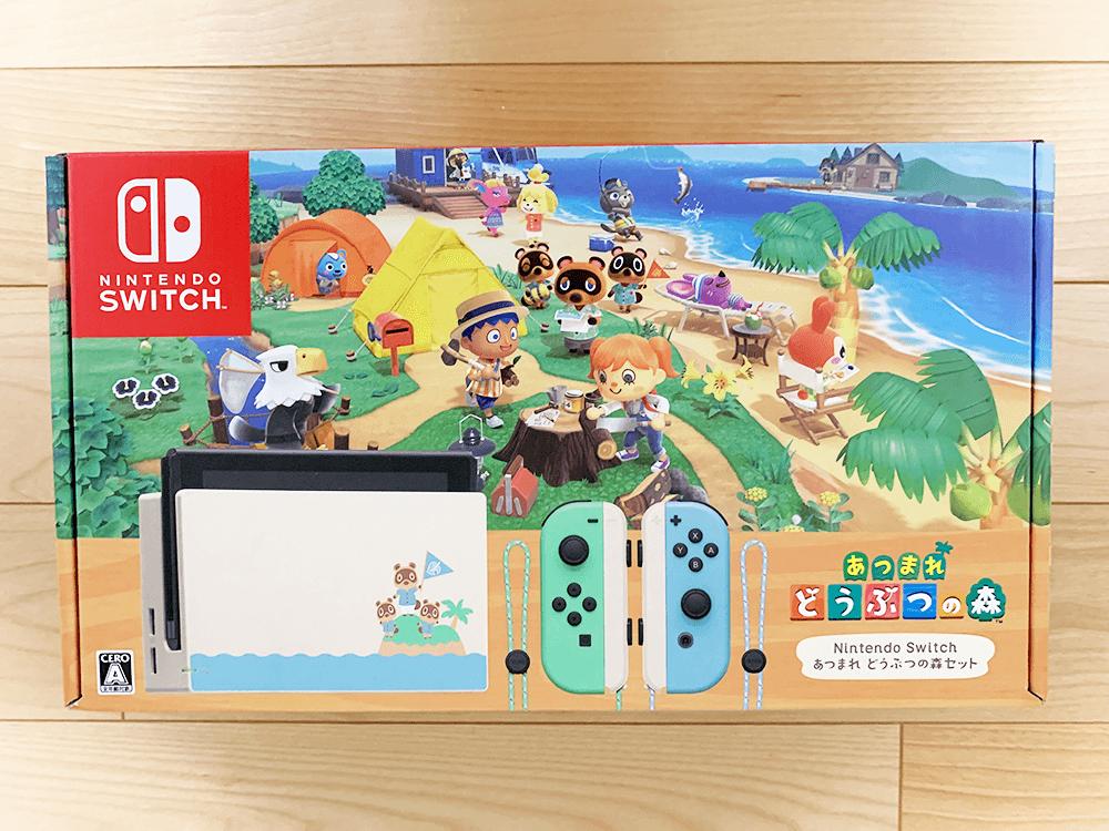 Nintendo Switch あつまれ どうぶつの森セット外箱