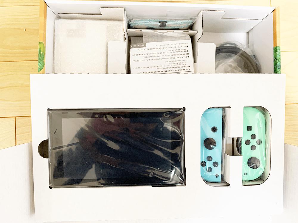Nintendo Switch あつまれ どうぶつの森セット中身