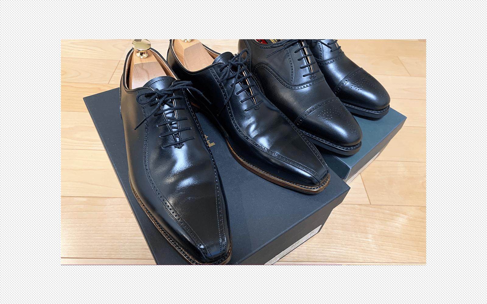 GRAIN(スコッチグレイン)の靴を買いました。