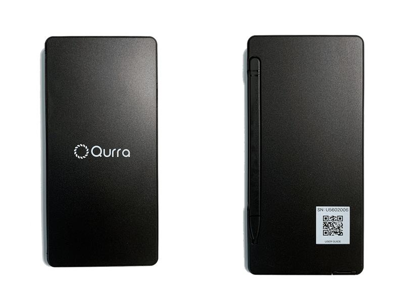 Qurra クルラ 電卓&デジタルメモ BUREW K-mo book mini ブリュー ケーモブック ミニ外観