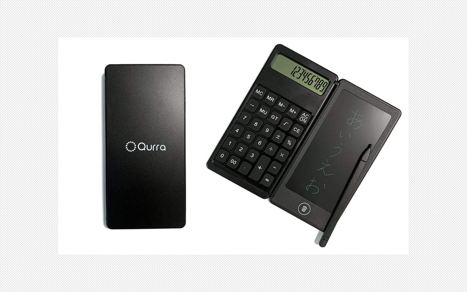 計算しながらメモできる! 「Qurra クルラ 電卓&デジタルメモ BUREW K-mo book mini ブリュー ケーモブック ミニ」を正直レビュー