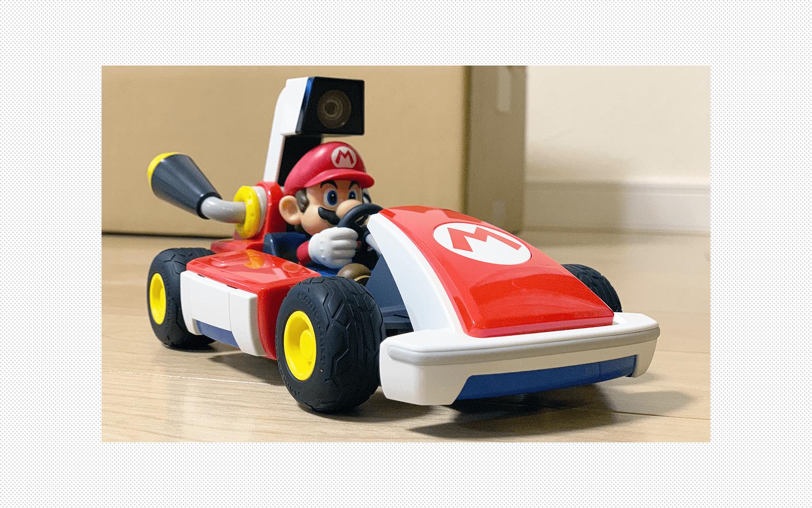 リビングがサーキットに。Nintendo Switch『マリオカート ライブ ホームサーキット』を正直レビュー