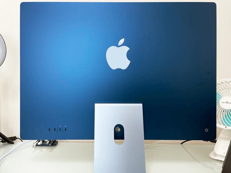 iMac2021年版(M1チップ)本体背面